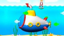 Çizgi film - Denizaltı (Build and Play - Submarine)  -