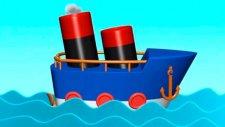 Çizgi film - Gemi (Build and Play - Ship)  -