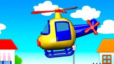 Çizgi film - Helikopter (Build and Play - Helicopter)  -