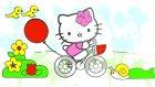 Çizgi film - Hello Kitty - Boyama kitabı (Renkleri öğreniyoruz)