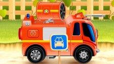 Çizgi Film - İtfaiye Araçları - Duman tahliye aspiratörlü söndürücü