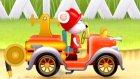 Çizgi Film - İtfaiye araçları - Nostaljik itfaiye arabası