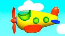 Çizgi film - Küçük Uçak (Build and Play - Aeroplane)  -