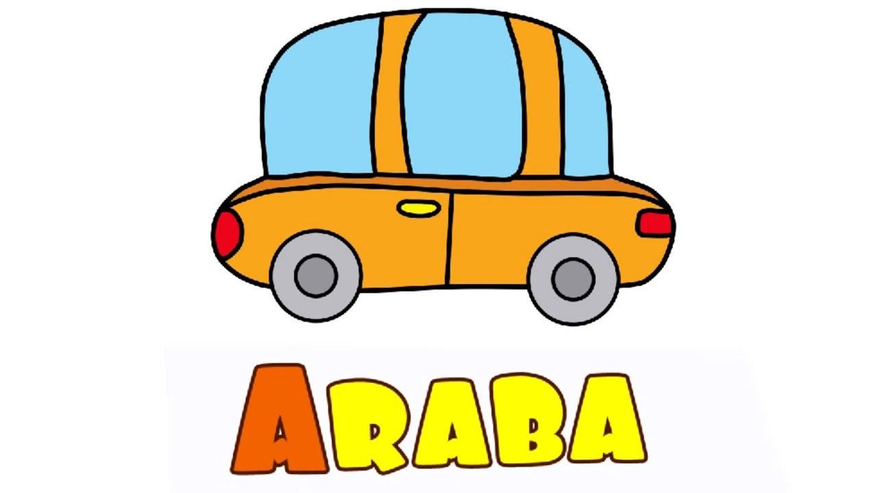 çizgi Film Okul öncesi Eğitim Araba Ile Eğitici Oyunlar