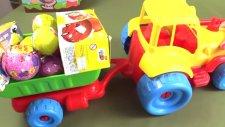 Çizgi Film - Süpriz yumurtaları patlatmaca