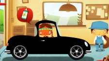 Çizgi film - Tamirci Kız - En hızlı yarış arabası oto bakımı
