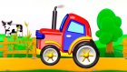 Çizgi film - Traktör (Build and Play - Tractor)  -
