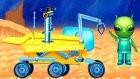 Çizgi Film - Uzay Araçları - Keşif robotu ( Spirit Rover )  -   -