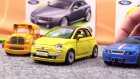 Çizgi Film - Yarış arabası Spedy ve Bus Fiat 500 araba yapıyor