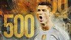 Cristiano Ronaldo Kariyerinde Attığı 500 Gol!