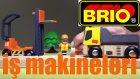 İnşaat İş Makineleri - Brio şehrinde İş makineleri köprü inşaa ediyor