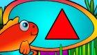 Çizgi film - Kırmızı Balık Pepe ile Şekiller oğreniyoruz (Üçgen)
