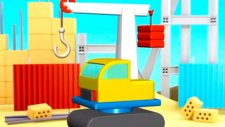 Çizgi film - Kule vinç (Build and Play - Crane)  -