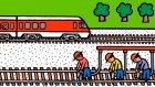 Çizgi Film - Taşıtlar - Tren