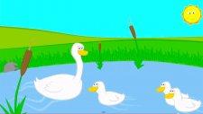 Çocuk Şarkıları - Üç Küçük Ördek Vak Vak Vak.