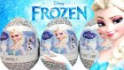 Karlar Ülkesi Sürpriz Yumurta Açma Elsa Oyuncak Yumurtalar