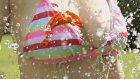 Su Dolu Balonlar Bikinili Kız VS Slow Motion