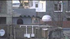 Polisin evleri rast gele taraması kameralara böyle yansıdı