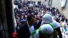 Şırnak'ta binlerce BDP'li yürüyüş ile seçim bürosunun açılışını yaptı.