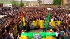 YPG'linin cenazesin binler karşıladı