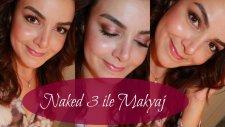 Naked 3 ile Makyaj | Hacer Sayıner