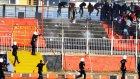 Van Büyükşehir Belediyespor ile Bergama Belediyespor maçında olay