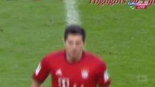 Lewandowski, Dortmund maçınıda boş geçmedi