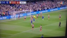 Willian'ın Southampton'a attığı enfes frikik golü
