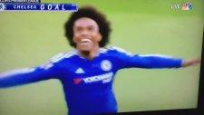 Willian'ın Southampton'a attığı enfes frikik golü.
