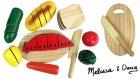 Oyuncak Kesilebilen Ahşap Meyve Sebze Yiyecekler Yemek Oyuncakları Oyun Hamuru TV