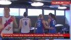 Türkiye'yi Yenen Sırp Oyuncular Soyunma Odasında Dans Edip Eğlendiler