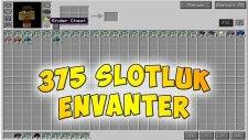 EŞYALAR ENVANTERİNİZE SIĞMIYOR MU ? - 375 SLOTLUK ENVANTER MODU !! - Minecraft Mod Tanıtımları #106