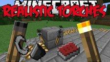 Gerçekçi Meşaleler ! (Kibrit Kutusu,Işıksız Meşale ve Daha Fazlası) Minecraft Mod Tanıtımları #125