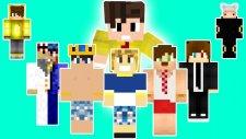 Minecraft - TÜRK YOUTUBERLAR MODU !!