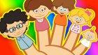 Parmak Ailesi | Sevimli Dostlar | Çocuk Şarkıları | AdisebabaTV
