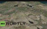 Hazar Denizi'nden Suriye'deki Hedefleri Vurmak