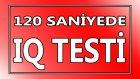 IQ Testi - TÜRKÇE
