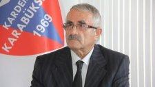 Karabükspor Başkanı Tankut: 'Baliç'e güveniyoruz'