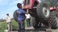 Traktörle Show Yapan Hint Çocuk!