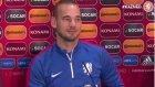 Sneijder: 'Ben daha yakışıklıyım'