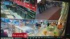 Tokat'daki Deprem Paniği Güvenlik Kamerasında