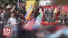 Deri Ceketli Adam Ankara'daki Katliamda Gülerek Poz Verdi