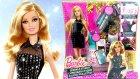Barbie Oyuncak Seti Pırıltılı Elbiseler Tasarım Merkezi Bebek Giydirme Oyun Hamuru TV