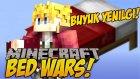 Minecraft YATAK SAVAŞLARI !! (BedWars) #10 - AŞIRI BÜYÜK YENİLGİ!