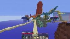 Minecraft YUMURTA SAVAŞLARI !! #3 - DAVŞAN GİBİ ZIPLIYORUZ! - w/Ahmet Aga,Wolvoroth Gaming