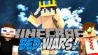 NE BU HEYECAN !!! | Yatak Savaşları (Bed Wars) | Bölüm-4 /w Minecraft Evi,Ahmet Aga
