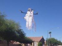 Cadılar Bayramına Hazır Hayalet Drone