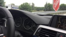 Bmw F30 316i Top Speed  (212 km/h)
