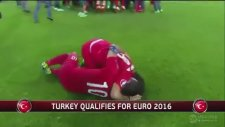 Euro 2016'ya Kalan Türkiye'nin Sevinç Anları