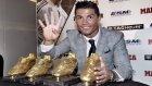 Ronaldo 4. Altın Ayakkabı'sını aldı